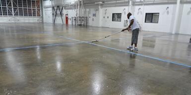 sealed concrete