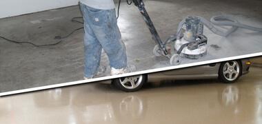 garage epoxy coating