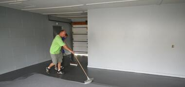 garage floor repair epoxy